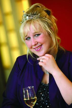 Badische Weinprinzessin Sarah Kappeler